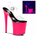 Scarpe Pleaser Flamingo-808UV/C/NP